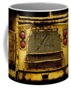 Big Dump Truck Grille Coffee Mug by Amy Cicconi