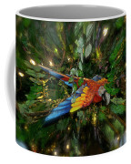 Big Glider Macaw Digital Art Coffee Mug