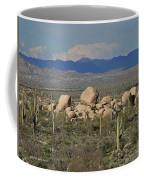 Big Granite Boulder In The Desert Coffee Mug