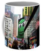Big Green M And M Coffee Mug