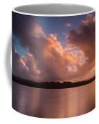 Big Lagoon Sunset Colors Coffee Mug