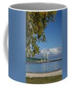 Big Mackinac Bridge 68 Coffee Mug