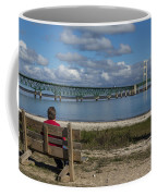 Big Mackinac Bridge 71 Coffee Mug