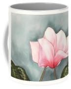 Big Pink Cyclamen Coffee Mug