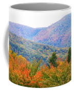 Big Pisgah Mountain In The Fall Coffee Mug