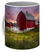 Big Red At Sunset Coffee Mug