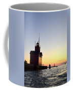 Big Red At Sunset Coffee Mug by Michelle Calkins