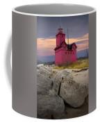 Big Red Lighthouse By Holland Michigan Coffee Mug