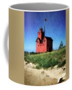 Big Red With Flag Coffee Mug