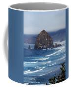 Big Rock On The Oregon Coast Coffee Mug