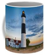 Big Sable Point Lighthouse Sunset Coffee Mug