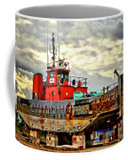 Big Ship Rising Coffee Mug