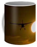 Big Sun Silhouette  Coffee Mug