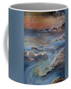 Big Sur In Sunset Coffee Mug