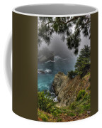 Big Sur Julia Pfeiffer State Park-1 Central California Coast Spring Early Afternoon Coffee Mug
