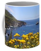 Big Sur Loves Yellow By Diana Sainz Coffee Mug