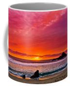 Big Sur Sunset Pfeiffer Beach Coffee Mug