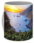 Big Sur Sunset Coffee Mug