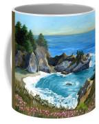 Big Sur Waterfall Coffee Mug