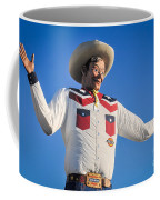 Big Tex - State Fair Of Texas - No. 2 By D. Perry Lawrence Coffee Mug