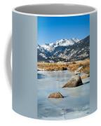 Big Thompson River Through Moraine Park In Rocky Mountain National Park Coffee Mug