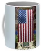Big Usa Flag 2 Coffee Mug