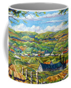 Big Valley By Prankearts Coffee Mug