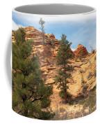 Bighorn Sheep On A Ridge Coffee Mug