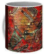 Bigsby Faux Mural Coffee Mug