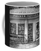 Bike At Palmer Square Book Store In Princeton Coffee Mug