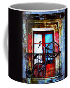 Bike In The Balcony Coffee Mug