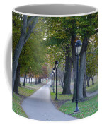 Bike Path Along Kelly Drive Coffee Mug