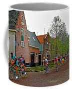 Bike Race On Orange Day In Enkhuizen-netherlands Coffee Mug