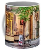 Bike - The Music Store Coffee Mug by Mike Savad