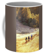 Bikers On Foresthill Divide Trail Coffee Mug