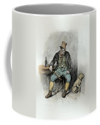 Bill Sykes And His Dog, From Charles Coffee Mug