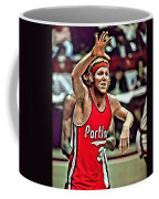 Bill Walton Coffee Mug by Florian Rodarte