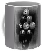 Billiards Art - Your Break - Bw  Coffee Mug