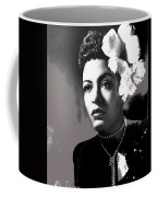 Billie Holiday Singer Song Writer No Date-2014 Coffee Mug