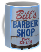 Bill's Barber Shop Coffee Mug