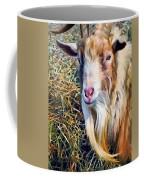 Billy Goat Closeup Coffee Mug