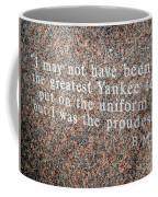 Billy Martin Coffee Mug