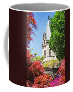 Biltmore And Japanese Maple Trees Coffee Mug