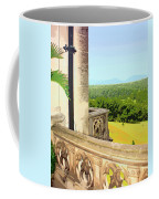 Biltmore Balcony Asheville Nc Coffee Mug by William Dey