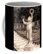 Biltmore Cherub Asheville Nc Coffee Mug by William Dey