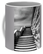 Biltmore Stairs Asheville Nc Coffee Mug by William Dey