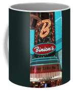 Binions Whiskey Licker Bar Coffee Mug