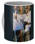 Birch At Russian Jack Park Coffee Mug