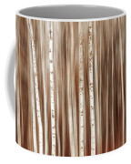 Birches In Motion Coffee Mug