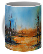 Birches Pond Coffee Mug